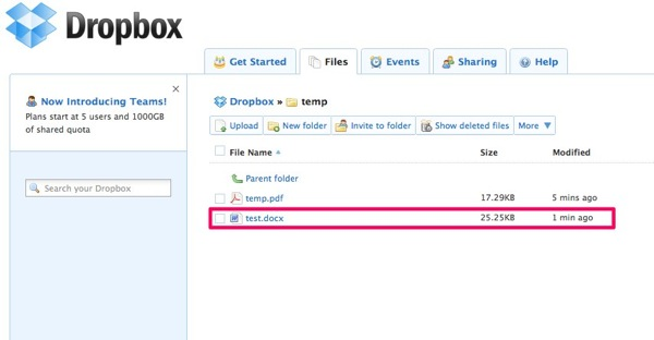 Dropbox  Files  Simplify your life 1