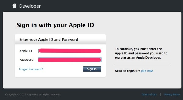 Sign in with your Apple ID  Apple Developer 1